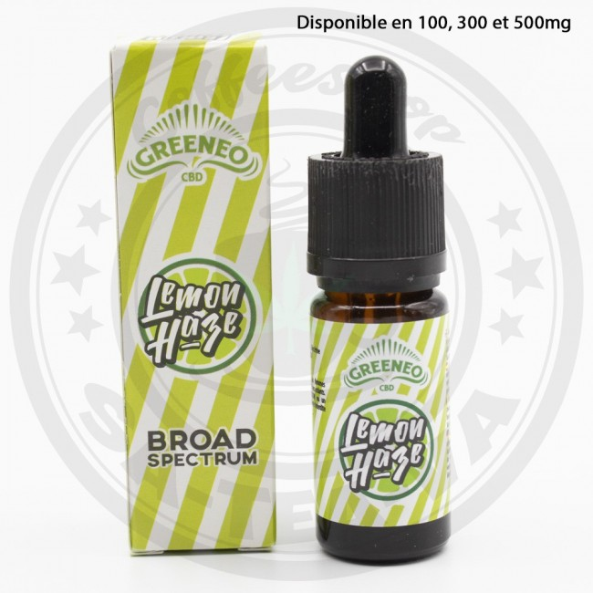 E-liquide Greeneo CBD Lemon...