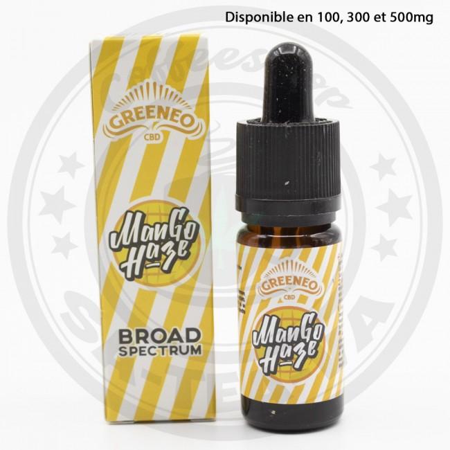 E-liquide Greeneo CBD Mango...