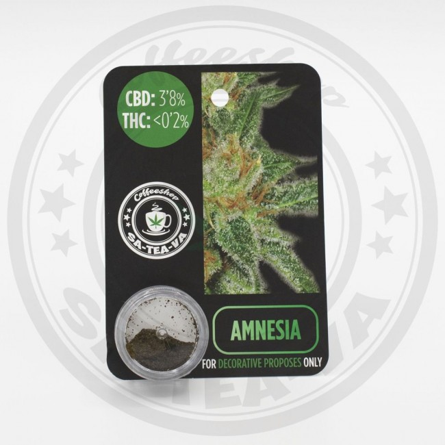 Résine CBD 3,8% Amnesia...
