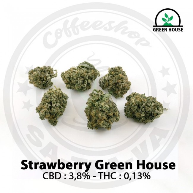Fleurs CBD STRAWBERRY Green...