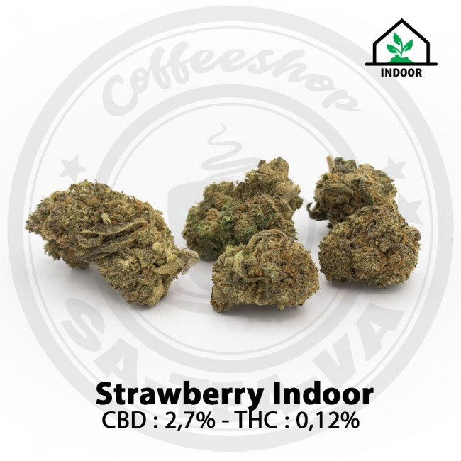 Fleurs CBD STRAWBERRY Indoor