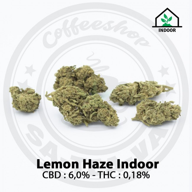 Fleurs CBD LEMON HAZE Indoor