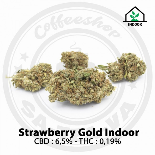 Fleurs CBD STRAWBERRY GOLD...
