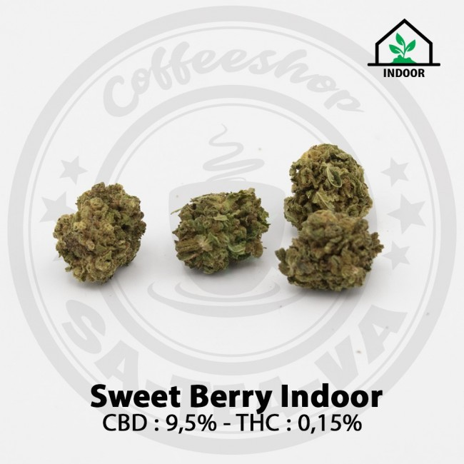 Fleurs CBD SWEET BERRY Indoor