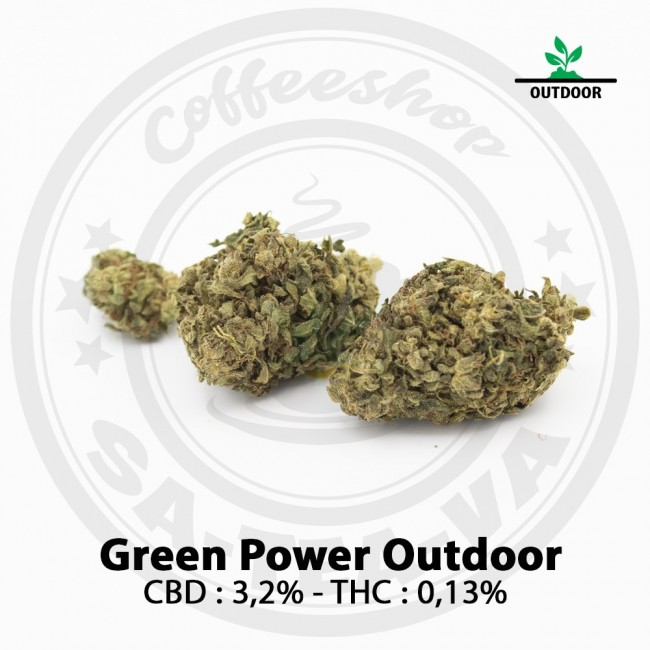 Fleurs CBD GREEN POWER Outdoor