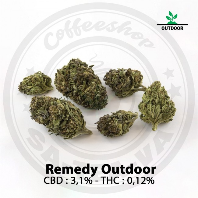 Fleurs CBD REMEDY Outdoor