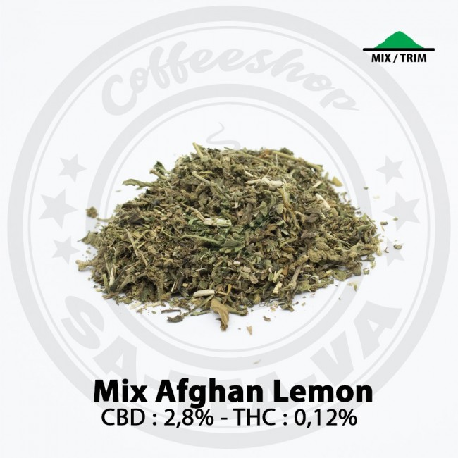 Mix CBD AFGHAN LEMON