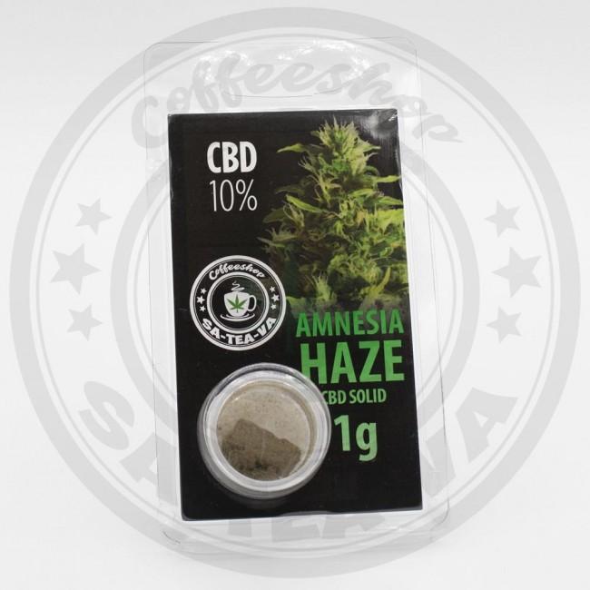 Résine CBD Amnesia Haze 10% 1G