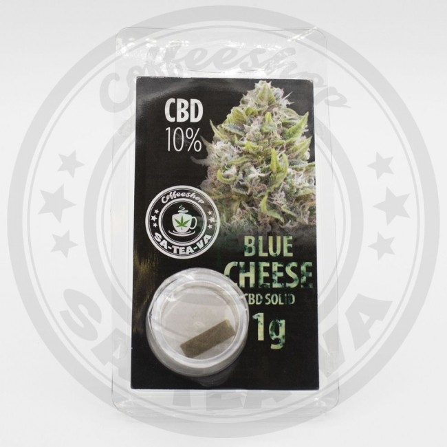 Résine CBD Blue Cheese 10% 1G