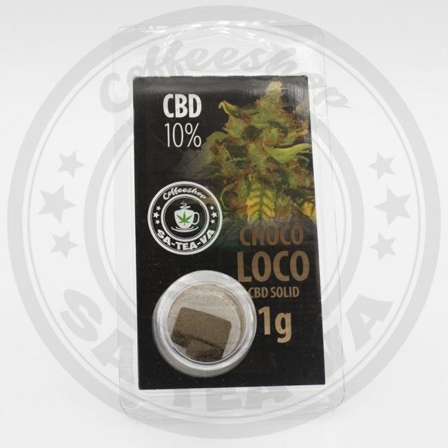 Résine CBD Chocoloco 10% 1G