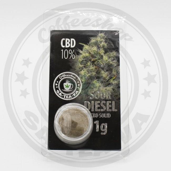 Résine CBD Sour Diesel 10% 1G