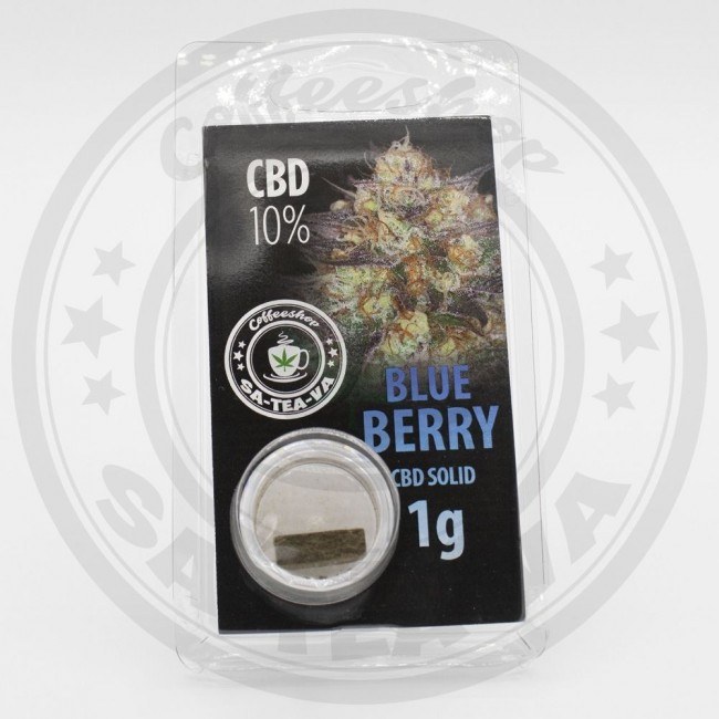 Résine CBD Blue Berry 10% 1G