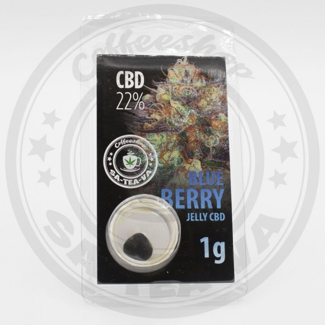 Jelly CBD Blue Berry 22% 1G