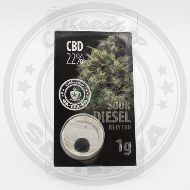 Jelly CBD Sour Diesel 22% 1G