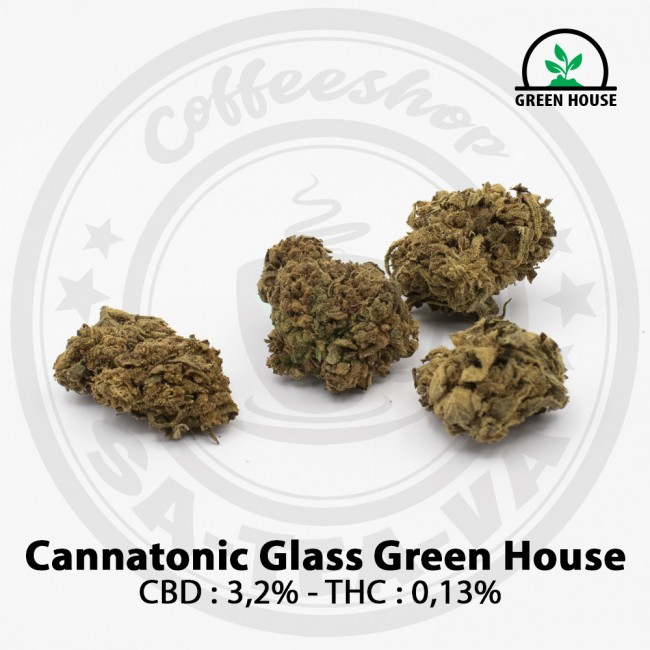 Fleurs CBD CANNATONIC GLASS...