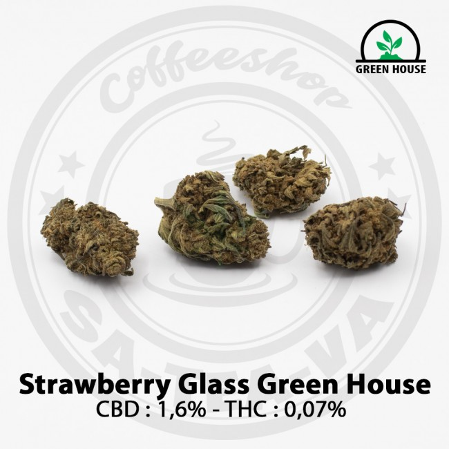 Fleurs CBD STRAWBERRY GLASS...