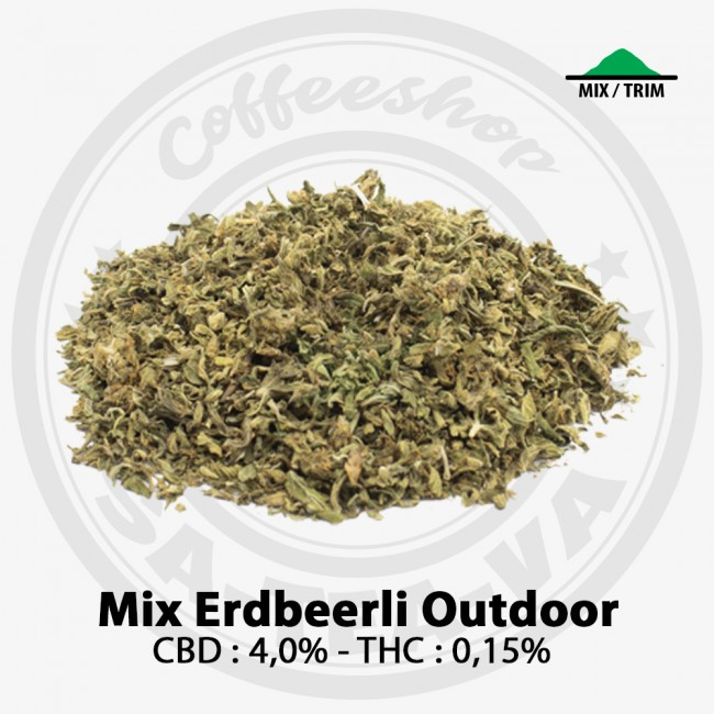 Mix CBD ERDBEERLI OUTDOOR