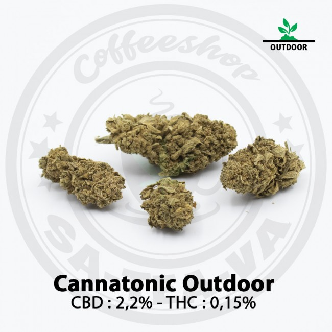 Fleurs CBD CANNATONIC Outdoor
