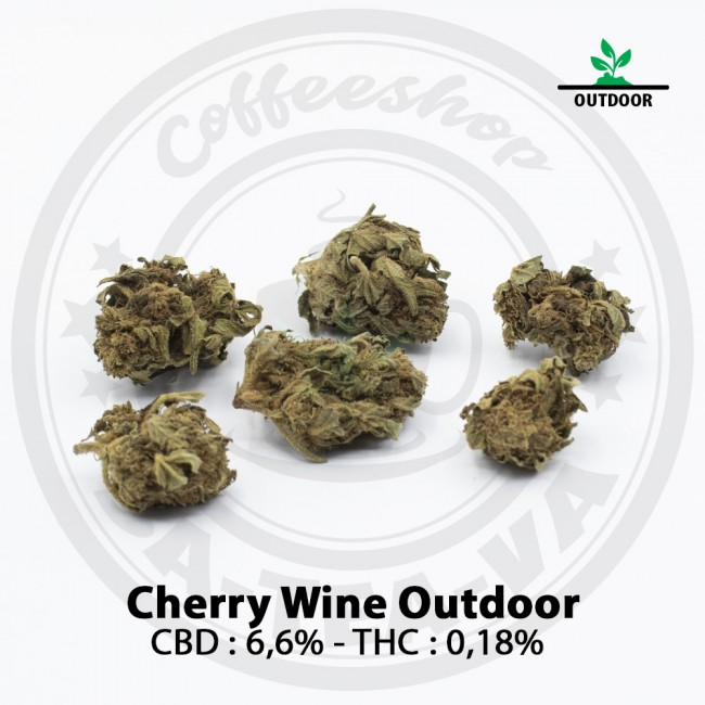 Fleurs CBD Cherry Wine OUTDOOR