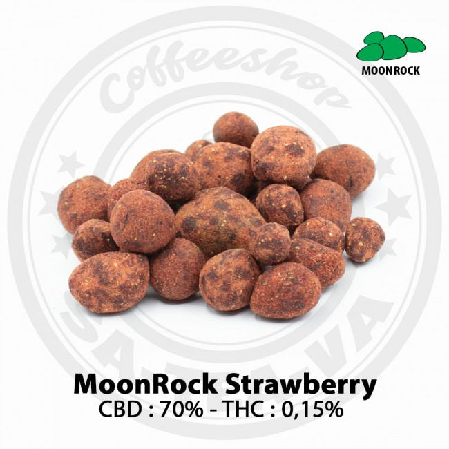 Fleurs CBD MOONROCK STRAWBERRY