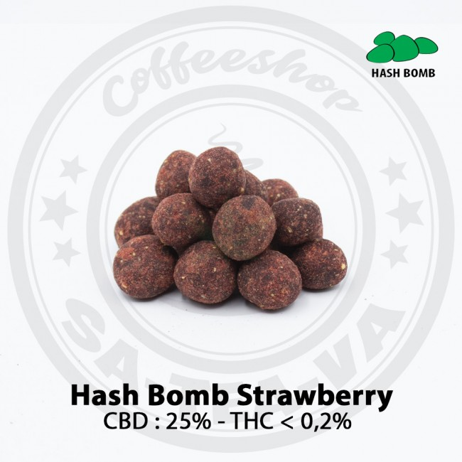 Résine CBD HASH BOMB...