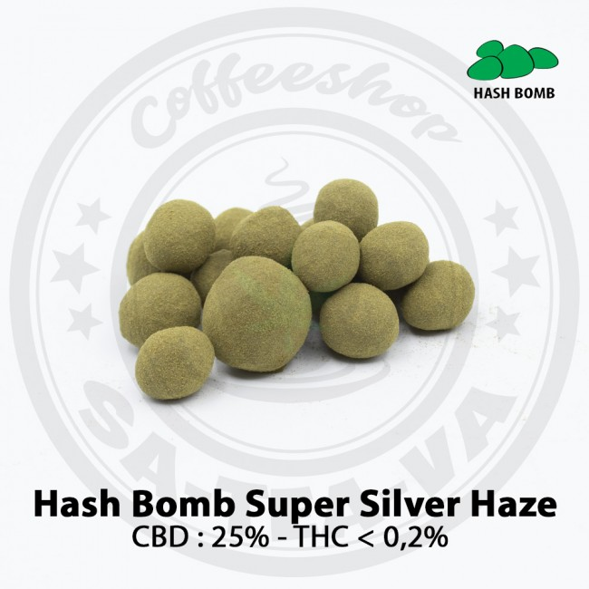 Résine CBD HASH BOMB SUPER...