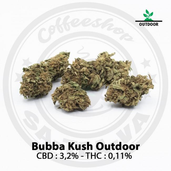 Fleurs CBD Bubba Kush OUTDOOR