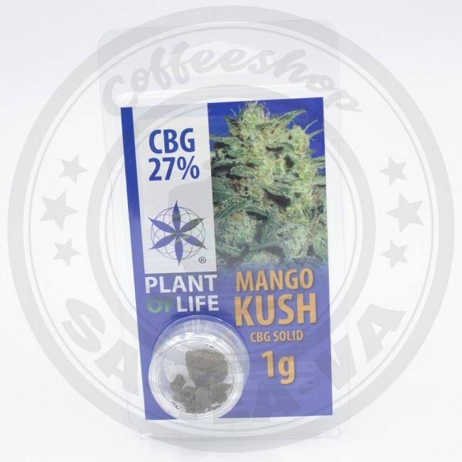 Résine CBG Mango Kush 27% 1G