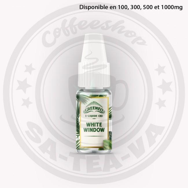 E-liquide Greeneo CBD White...