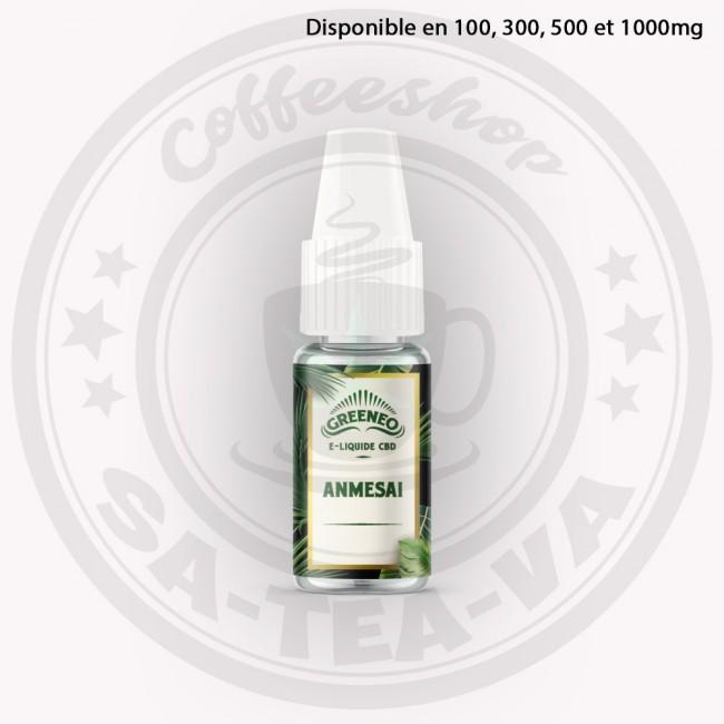 E-liquide Greeneo CBD Anmesai