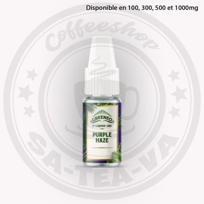 E-liquide Greeneo CBD...