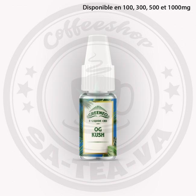E-liquide Greeneo CBD OG Kush