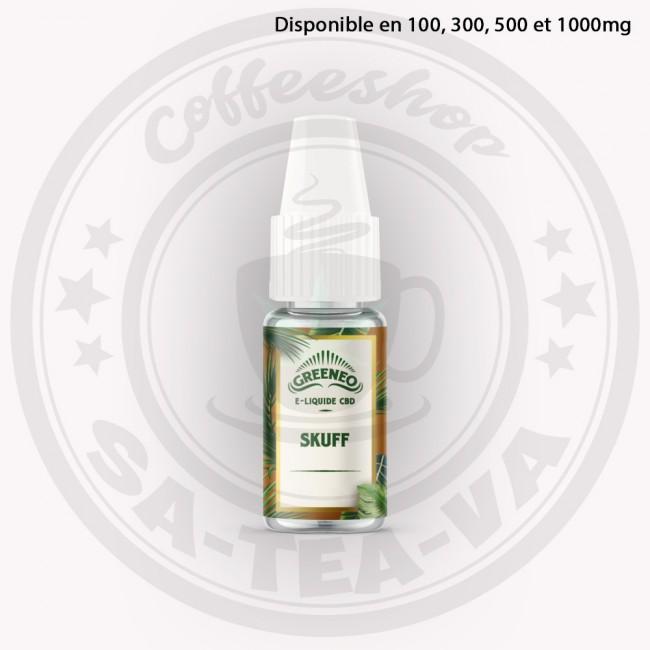 E-liquide Greeneo CBD Skuff